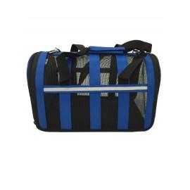 Túi xách vòm lưới xanh dương