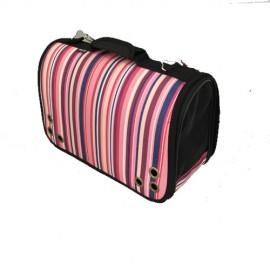 Túi xách sọc hồng